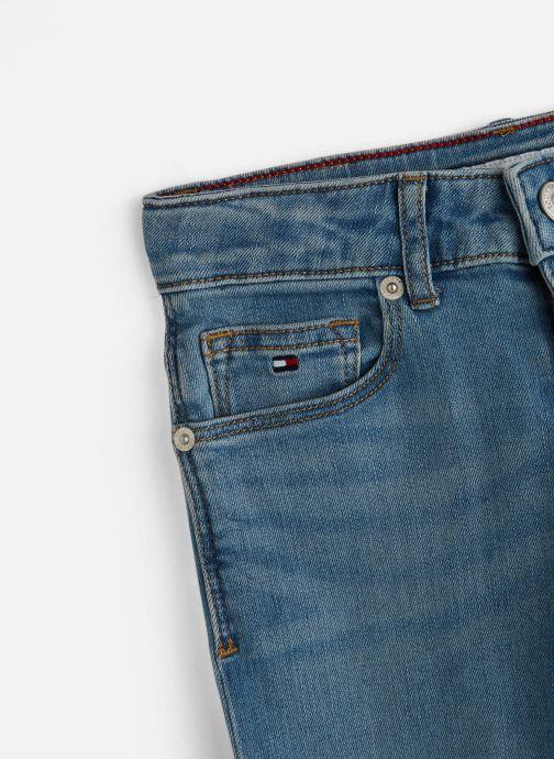 Vêtements Tommy Hilfiger Nora Rr Skinny Bleu vue portées chaussures