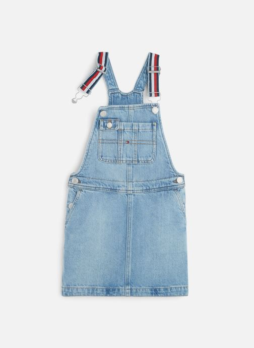 Vêtements Tommy Hilfiger Dungaree Dress Bleu vue détail/paire