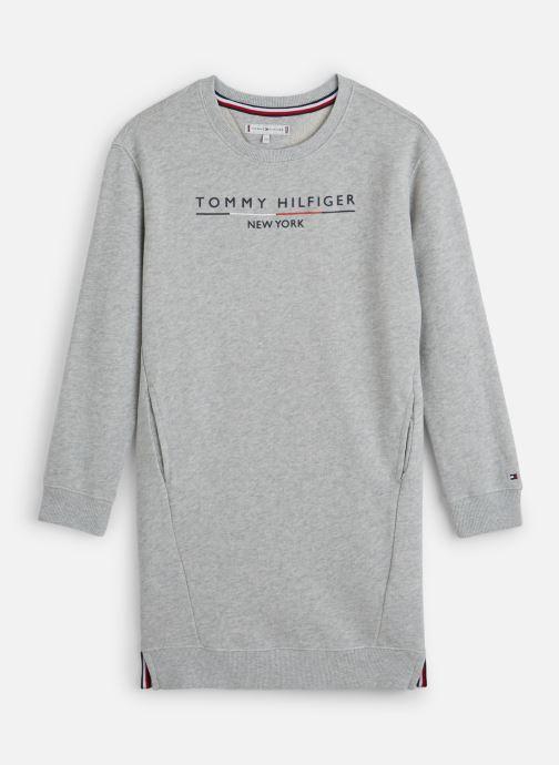 Vêtements Tommy Hilfiger Crew Sweatshirt Dress Gris vue détail/paire