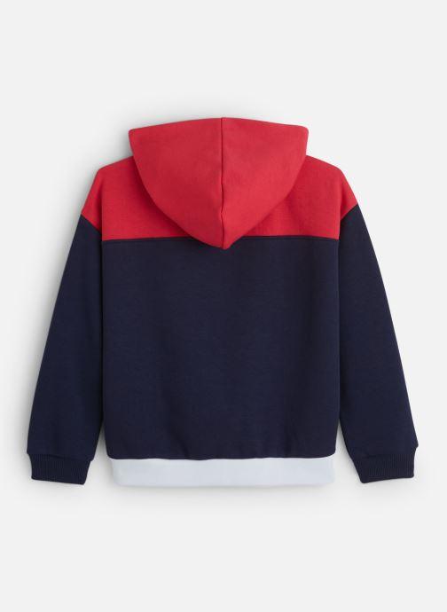 Vêtements Tommy Hilfiger Color Block Toggle Hoodie Bleu vue bas / vue portée sac