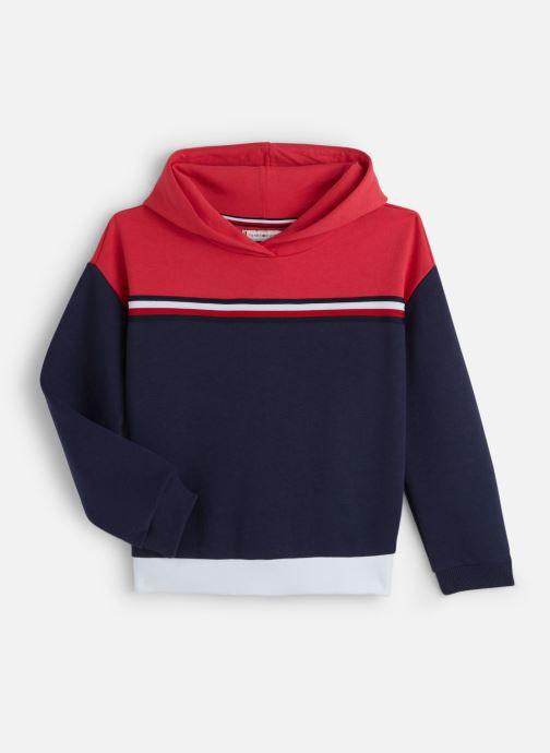 Vêtements Tommy Hilfiger Color Block Toggle Hoodie Bleu vue détail/paire