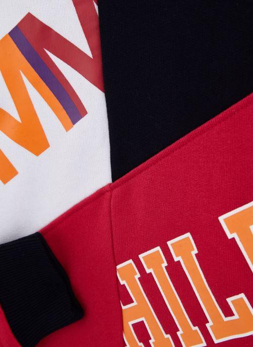 Kleding Tommy Hilfiger Color Text Block Sweatshirt Multicolor model