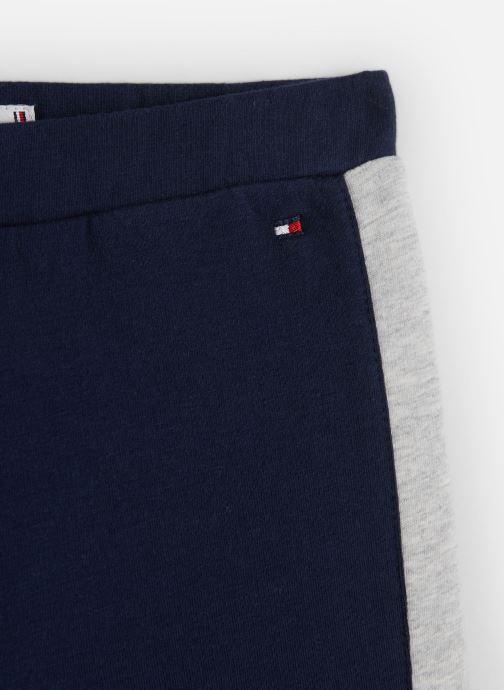 Vêtements Tommy Hilfiger Essential Hwk Logo Leggins Bleu vue portées chaussures