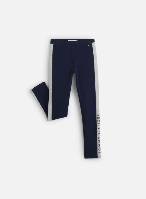 Vêtements Tommy Hilfiger Essential Hwk Logo Leggins Bleu vue détail/paire