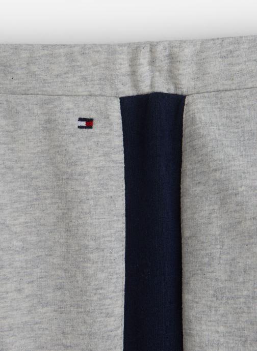 Vêtements Tommy Hilfiger Essential Hwk Logo Leggins Gris vue portées chaussures