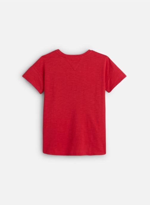 Vêtements Tommy Hilfiger City Print Tee Rose vue bas / vue portée sac