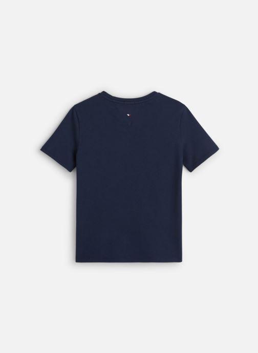Vêtements Tommy Hilfiger Essential Hilfiger Tee Bleu vue bas / vue portée sac