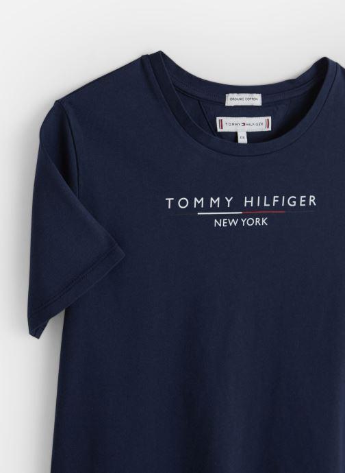 Kleding Tommy Hilfiger Essential Hilfiger Tee Blauw model