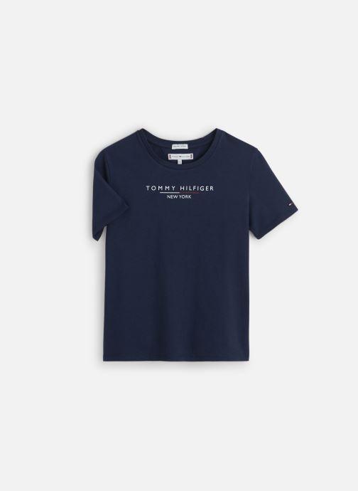Vêtements Tommy Hilfiger Essential Hilfiger Tee Bleu vue détail/paire
