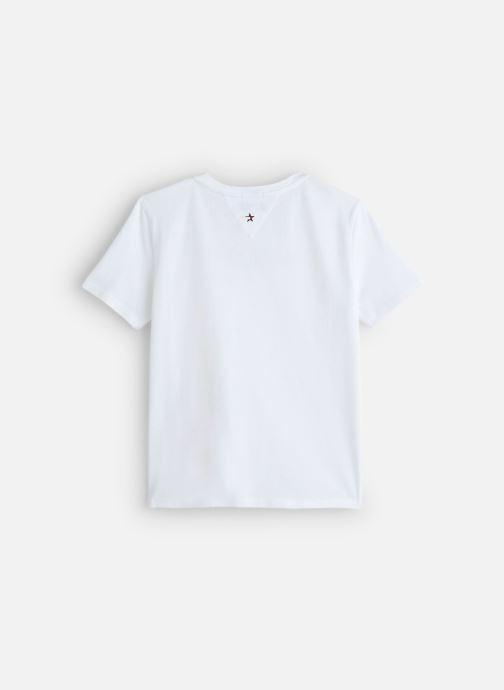 Vêtements Tommy Hilfiger Essential Hilfiger Tee Blanc vue bas / vue portée sac