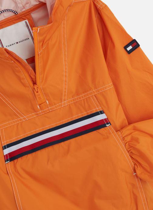 Vêtements Tommy Hilfiger U Pop Over Orange vue portées chaussures