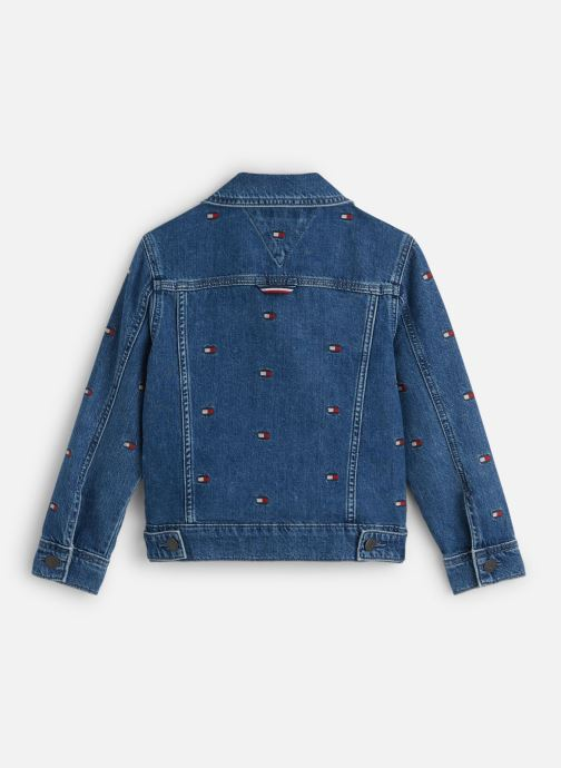 Vêtements Tommy Hilfiger Oversized Trucker U Mbflea Bleu vue bas / vue portée sac