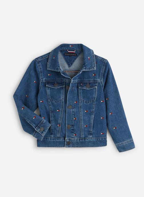 Vêtements Tommy Hilfiger Oversized Trucker U Mbflea Bleu vue détail/paire