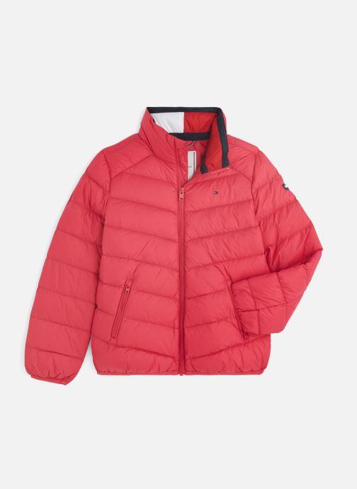 Kleding Tommy Hilfiger U Light Down Jacket Roze detail