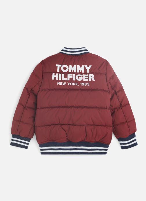 Vêtements Tommy Hilfiger Padded Bomber Bordeaux vue bas / vue portée sac