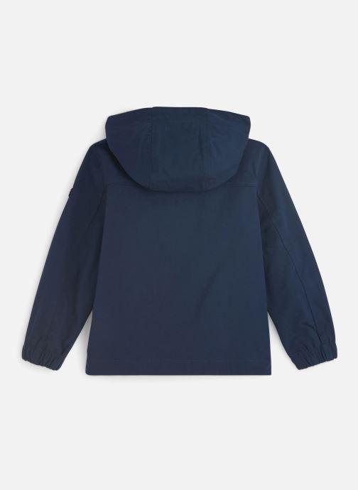 Vêtements Tommy Hilfiger Hooded Coach Jacket Bleu vue bas / vue portée sac