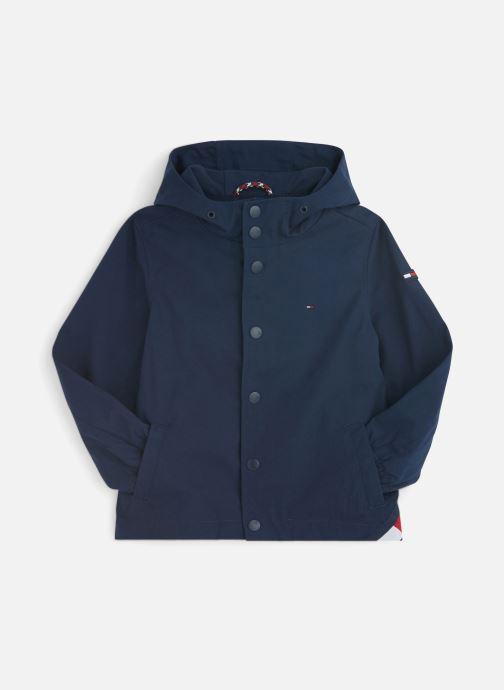 Vêtements Tommy Hilfiger Hooded Coach Jacket Bleu vue détail/paire