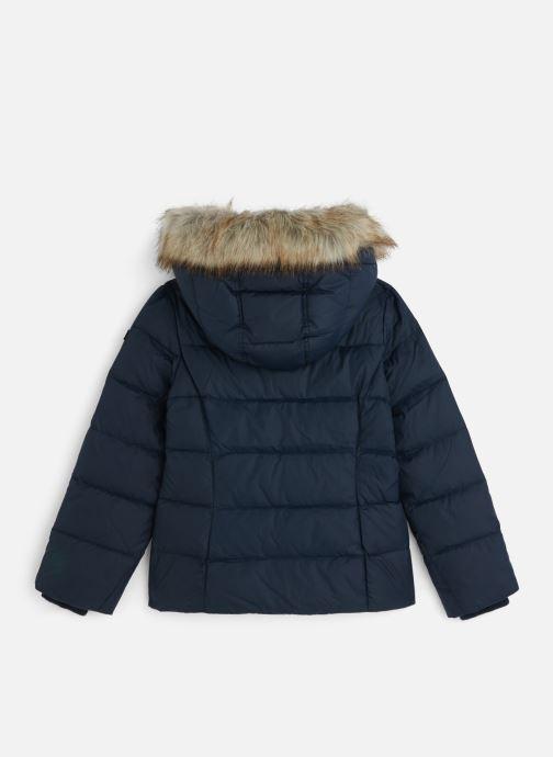 Vêtements Tommy Hilfiger Essential Basic Down Jacket Bleu vue bas / vue portée sac