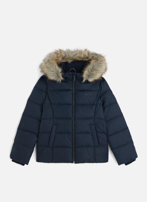 Vêtements Tommy Hilfiger Essential Basic Down Jacket Bleu vue détail/paire