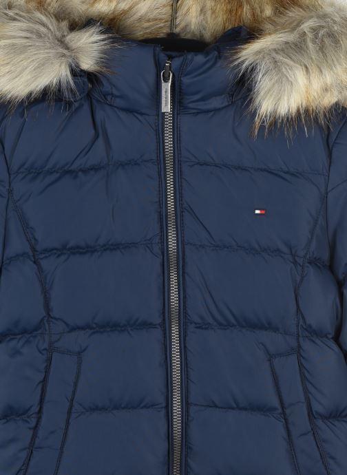 Vêtements Tommy Hilfiger Essential Basic Down Jacket Bleu vue face