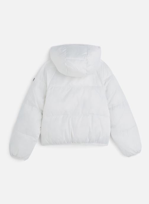 Kleding Tommy Hilfiger Recycled Short Puffer Wit onder