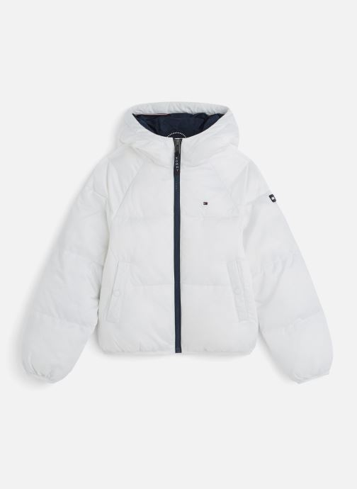 Kleding Tommy Hilfiger Recycled Short Puffer Wit detail