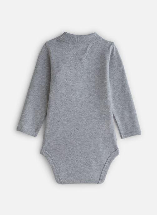 Vêtements Tommy Hilfiger Baby Polo Body Giftbox Gris vue bas / vue portée sac