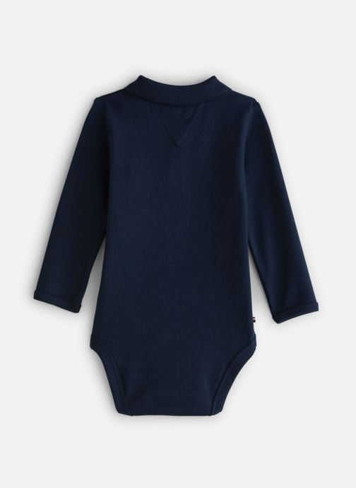 Vêtements Tommy Hilfiger Baby Polo Body Giftbox Bleu vue bas / vue portée sac