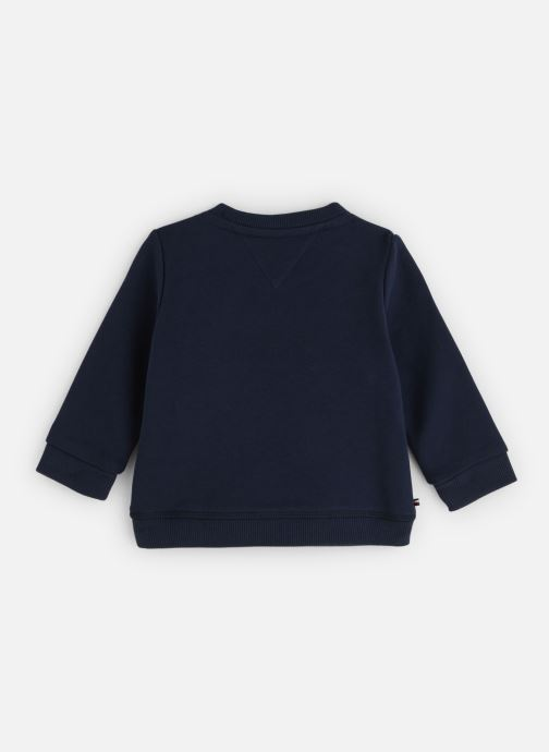 Kleding Tommy Hilfiger Baby Tommy Loopback Sweatshirt Blauw onder