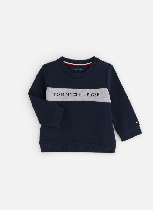 Kleding Tommy Hilfiger Baby Tommy Loopback Sweatshirt Blauw detail
