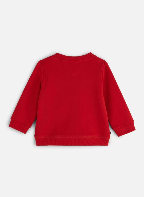 Kleding Tommy Hilfiger Baby Tommy Loopback Sweatshirt Rood onder
