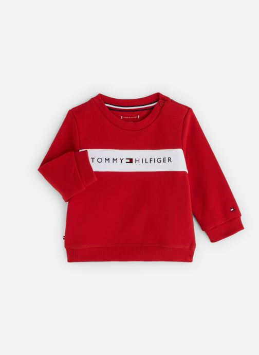 Kleding Tommy Hilfiger Baby Tommy Loopback Sweatshirt Rood detail