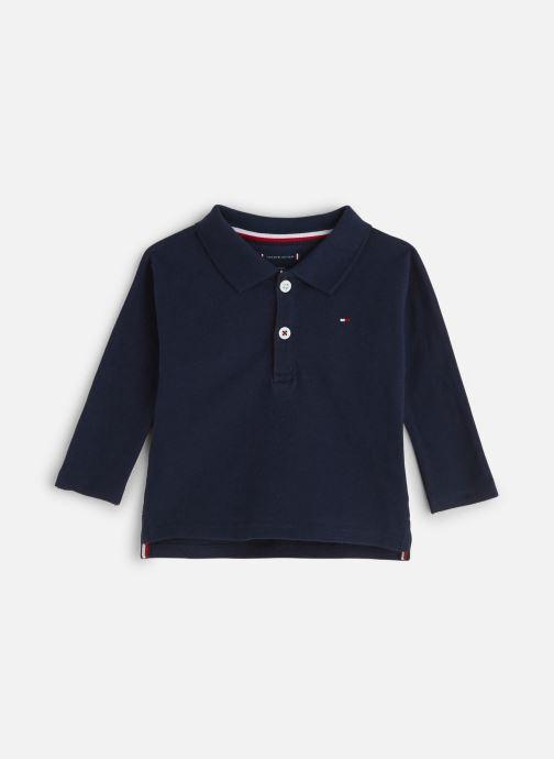 Vêtements Tommy Hilfiger Baby Flag Polo Bleu vue détail/paire