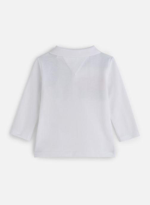 Vêtements Tommy Hilfiger Baby Tommy Polo Blanc vue bas / vue portée sac
