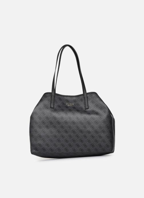 Handtaschen Guess Vikky Large Tote schwarz detaillierte ansicht/modell