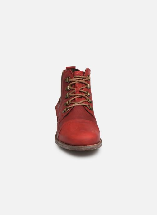 Bottines et boots Josef Seibel Sienna 09 Rouge vue portées chaussures
