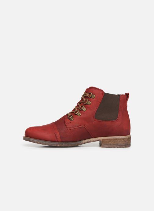Bottines et boots Josef Seibel Sienna 09 Rouge vue face