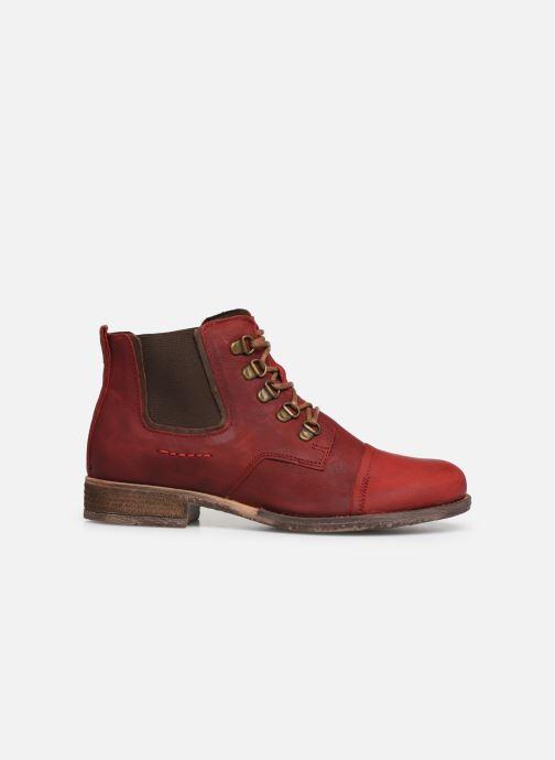 Bottines et boots Josef Seibel Sienna 09 Rouge vue derrière