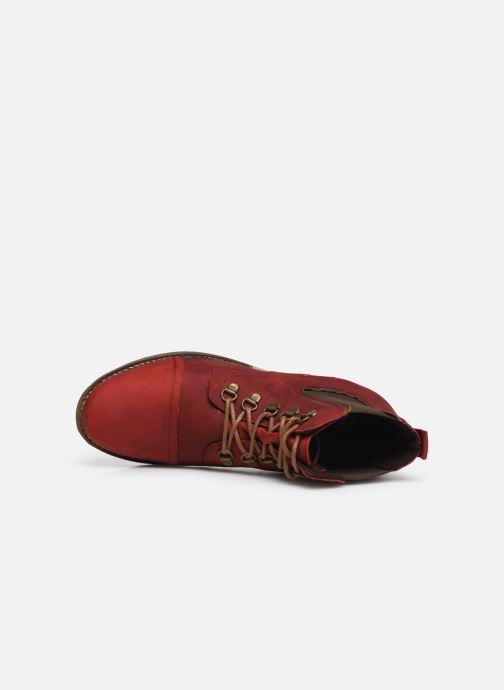 Bottines et boots Josef Seibel Sienna 09 Rouge vue gauche