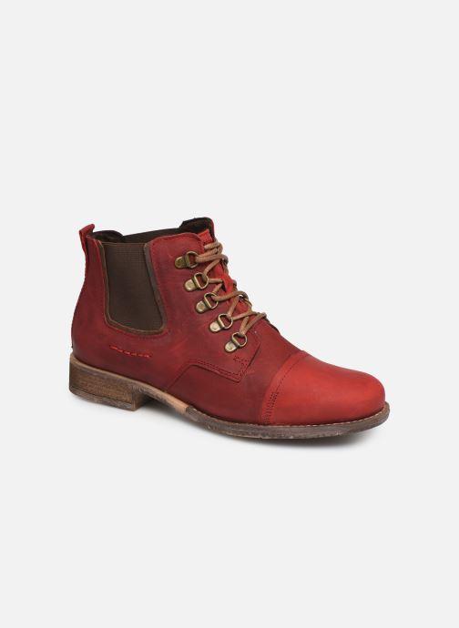 Bottines et boots Josef Seibel Sienna 09 Rouge vue détail/paire