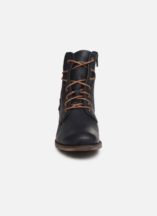 Bottines et boots Josef Seibel Sienna 63 Bleu vue portées chaussures