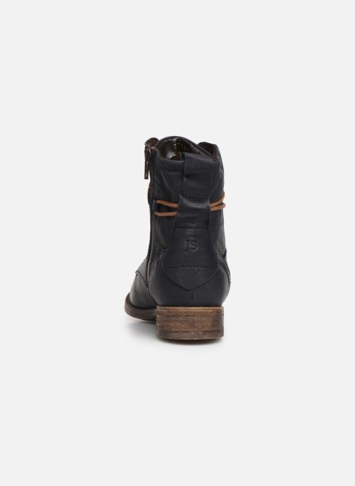 Bottines et boots Josef Seibel Sienna 63 Bleu vue droite