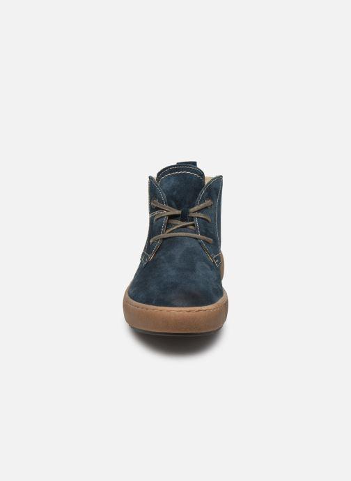 Sneaker Josef Seibel Maren 02 blau schuhe getragen