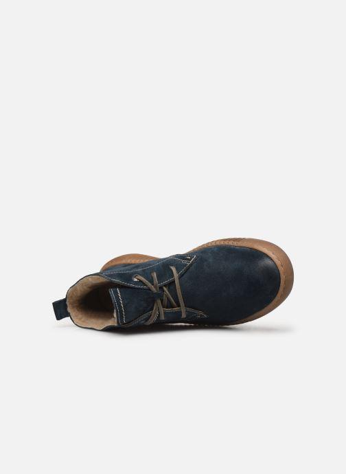 Sneaker Josef Seibel Maren 02 blau ansicht von links