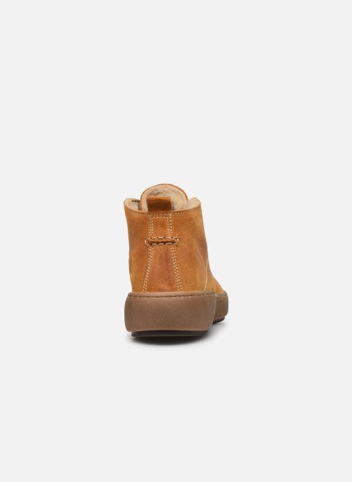 Sneakers Josef Seibel Maren 02 Geel rechts