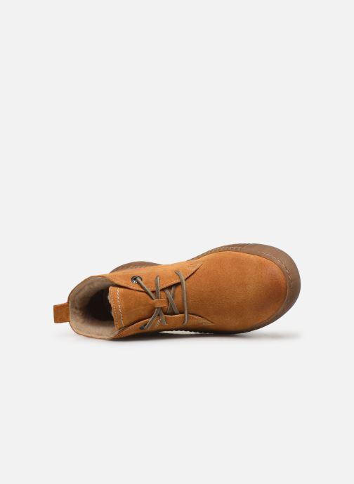 Sneakers Josef Seibel Maren 02 Geel links
