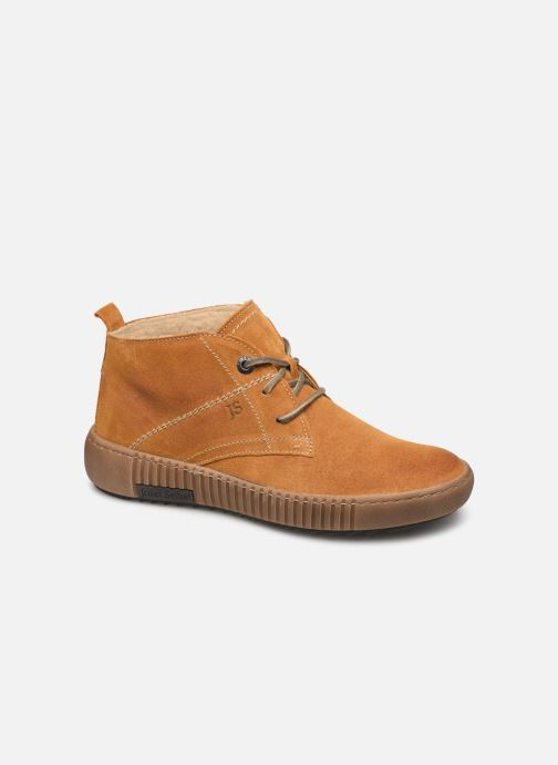 Sneakers Josef Seibel Maren 02 Geel detail