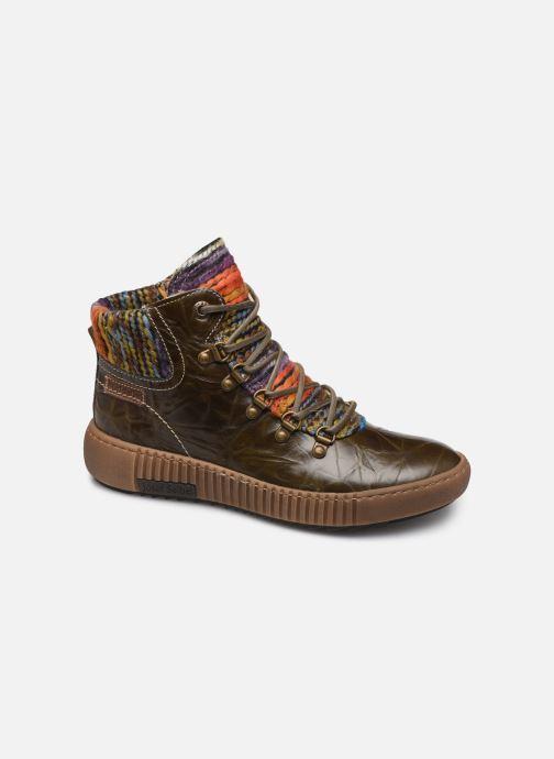 Bottines et boots Josef Seibel Maren 06 Vert vue détail/paire