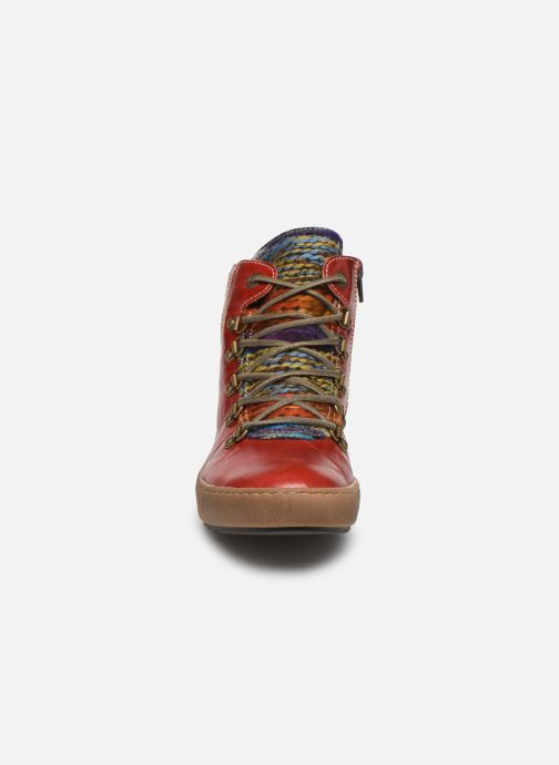 Bottines et boots Josef Seibel Maren 06 Rouge vue portées chaussures