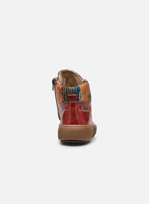 Stiefeletten & Boots Josef Seibel Maren 06 rot ansicht von rechts